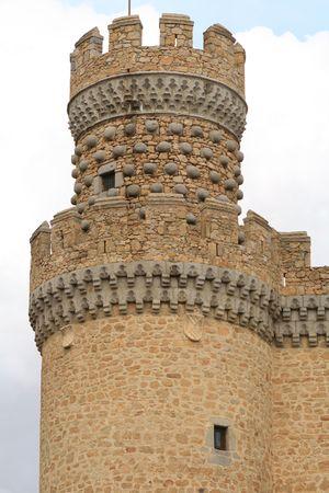 donjon: donjon of XV century castle
