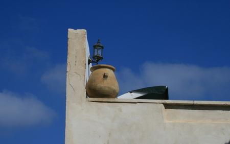 Mediterranean pottery  Stock Photo