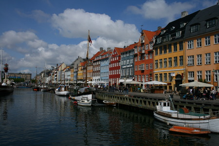 old sea port of Copenhaguen Stock Photo - 29853483