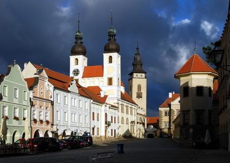 historic town Telc, Czech Republic