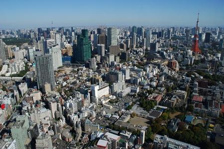 Tokyo - Japan, panoramic view
