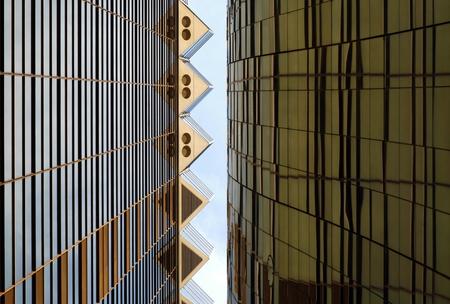 Detail of modern architecture in Tokyo, Asakusa