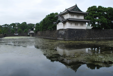 View of the Imperial Palace, Tokyo, Japan
