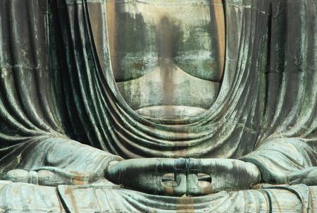 Great Buddha, detail, Kamakura - Japan