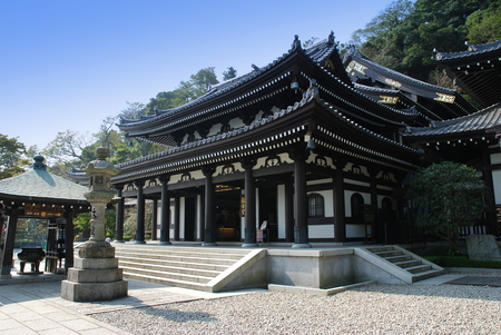Hasedera buddhistic temple, Kamakura - Japan