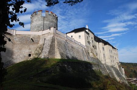 The Cesky Sternberk castle, Czech Republic