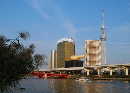 Tokyo, Sumida River and Sky tree Tower