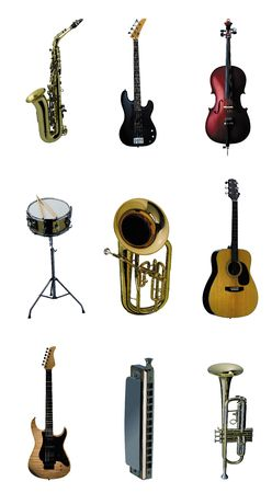 music instrument Stock Photo - 6871670