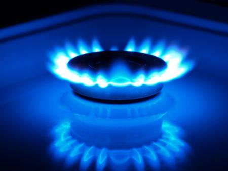 estufa: gas natural
