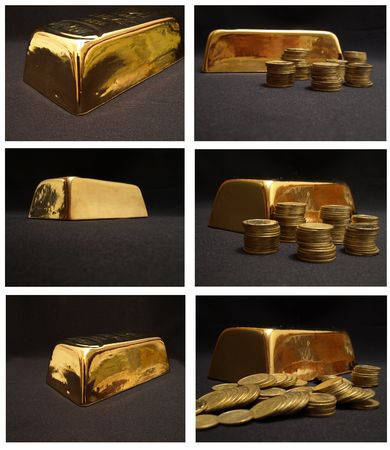 goldbars: black gold