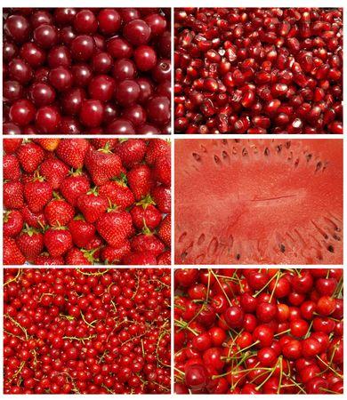 frutta rossa Archivio Fotografico - 7712423
