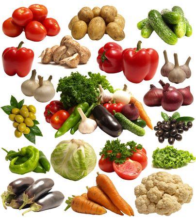 Légumes frais Banque d'images - 7712401