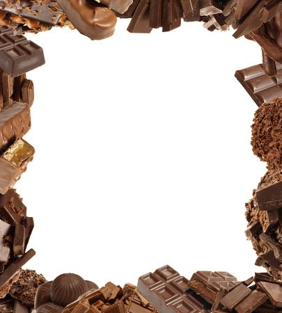 endorphines: Ourl favorite chocolate Stock Photo