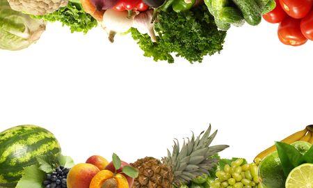 Fruits et légumes Banque d'images - 7712284