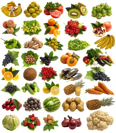 The most tasty fruit and vegetables photo