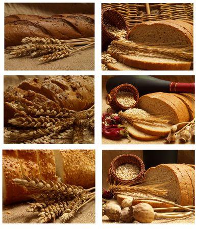 Aroma of fresh crackling bread Stock Photo - 7712393