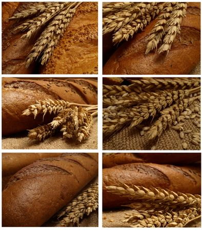Aroma of fresh crackling bread Stock Photo - 7712417