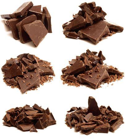짓 눌린: 초콜릿