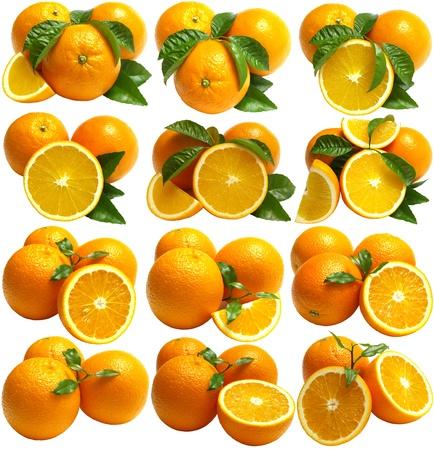 orange peel: Orange fruits Stock Photo