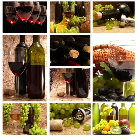 iron hoops: Wine Stock Photo