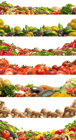 Collection vegetable photo
