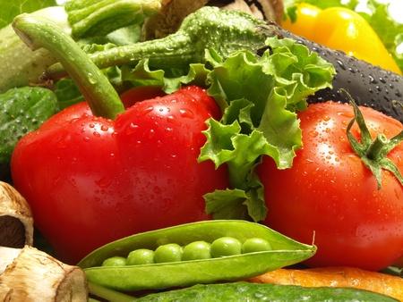 Légumes frais Banque d'images - 9863908