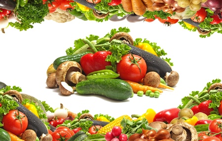 Légumes frais Banque d'images - 10012879