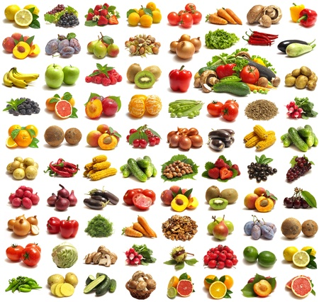 mixed fruit: Fruit and vegetables for all tastes