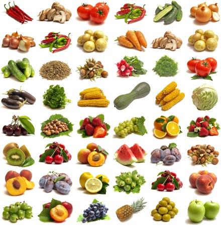 Fruits et légumes Banque d'images - 10411544