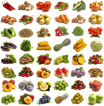ensalada de frutas: Frutas y hortalizas