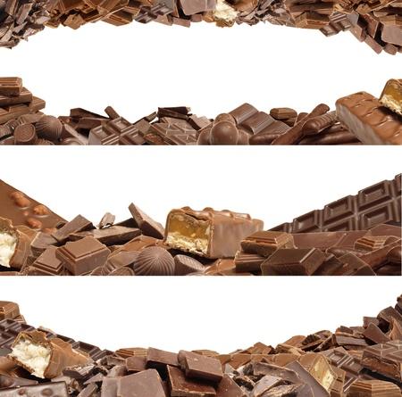 Produits de chocolat pour tous les goûts Banque d'images - 10804331