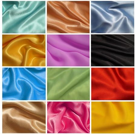 Texture silk Stock Photo