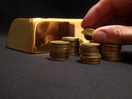 Gold for all tastes Stock Photo - 10848607