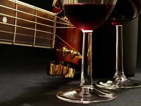 Belle musique de vin Banque d'images - 10848634