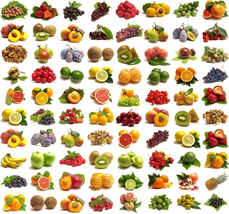 Collection fruits Stock Photo - 10981056