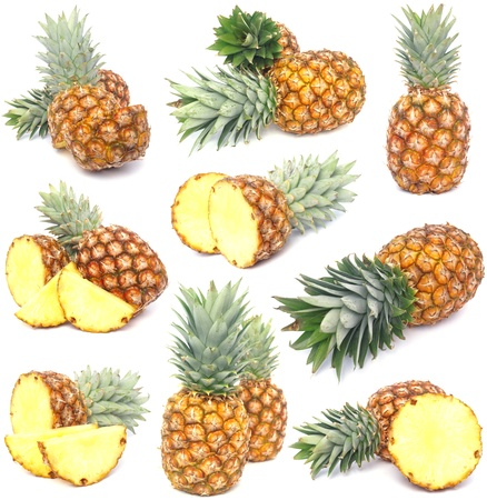 Pineapple collection Stock Photo - 11994746