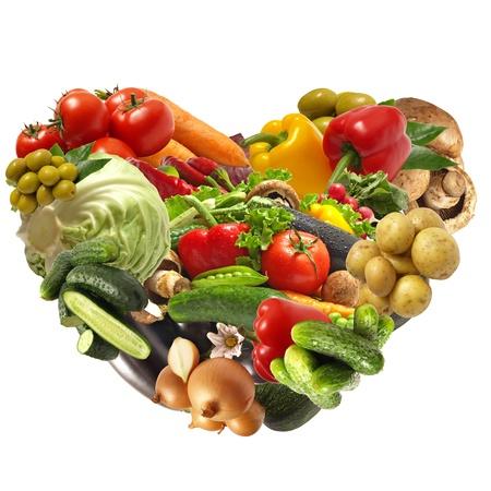 Légumes Amour Banque d'images - 12578713