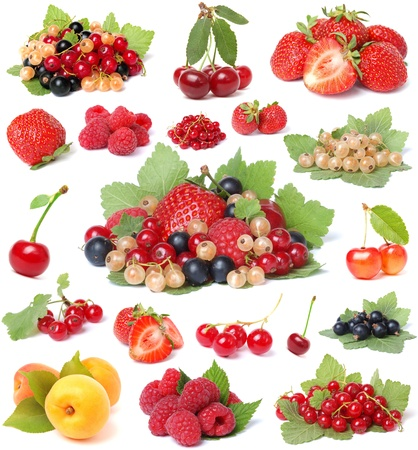 Collection berries