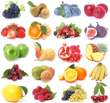 Fruit collection Stock Photo - 15451603