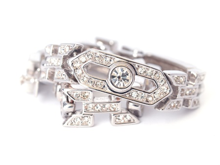 Diamond bracelet         Stock Photo