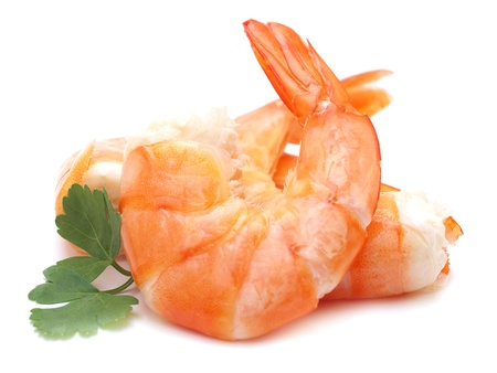 tiger shrimp: Fresh shrimps        Stock Photo