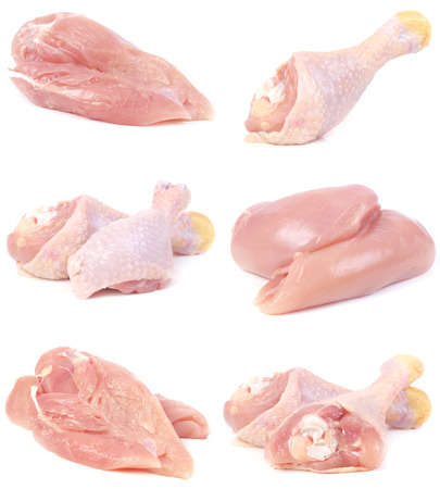 carnes de pollo photo