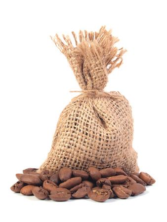 gunny bag: coffee bag    Stock Photo
