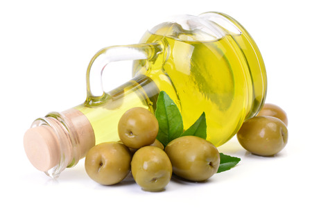 Fresh oil olives photo