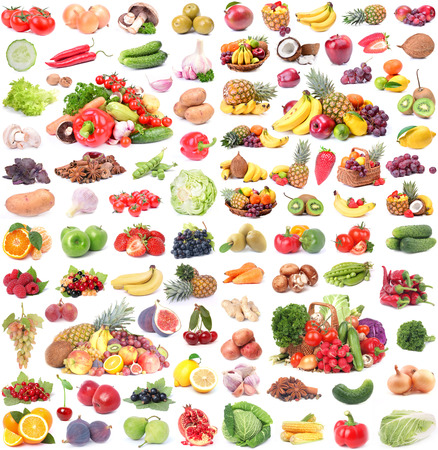 Fruits et légumes Banque d'images - 30558165