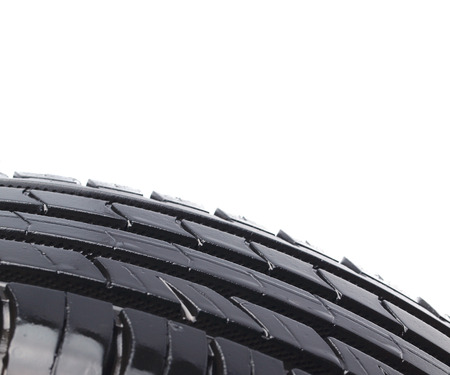 Tire isolated photo