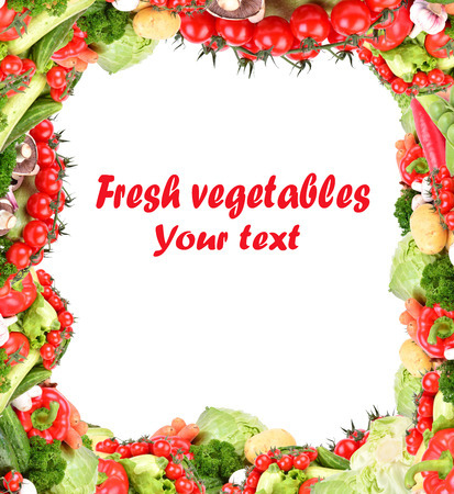 Fresh vegetable photo
