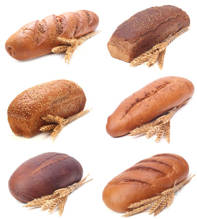 mouth watering: fresh bread