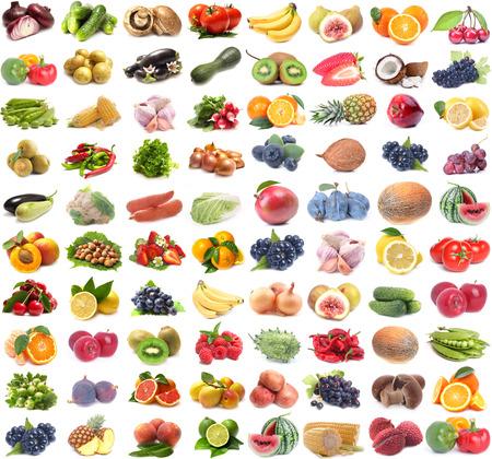 fruits and vegetables Standard-Bild