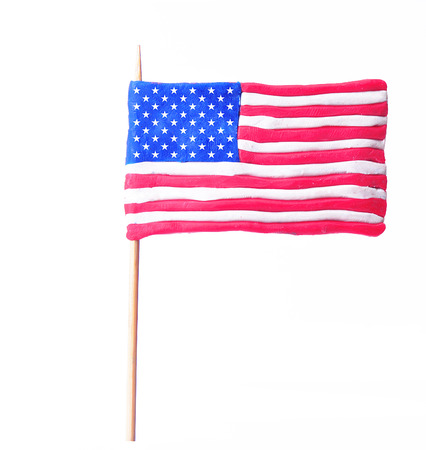 simbols: american flag Stock Photo